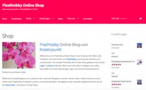 Pixelhobby Web Shop
