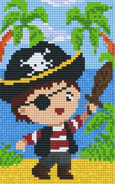 Pixeln Mosaik
