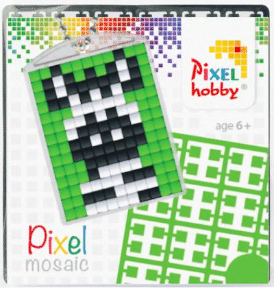 Pixelhobby Schlüsselanhänger Zebra