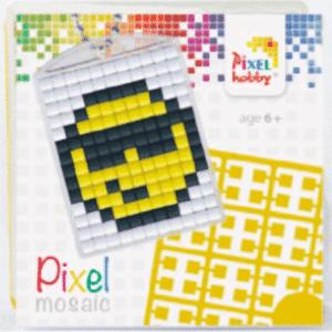 Pixelhobby Schluesselanhaenger Smiley