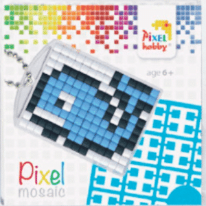Pixelhobby Schlüsselanhänger Wal