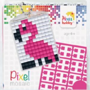 Pixelhobby Schluesselanhaenger Flamingo