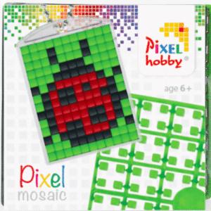 Pixelhobby Schluesselanhaenger Marienkäfer
