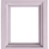 Pixel-Bilderrahmen Kunststoff Grau