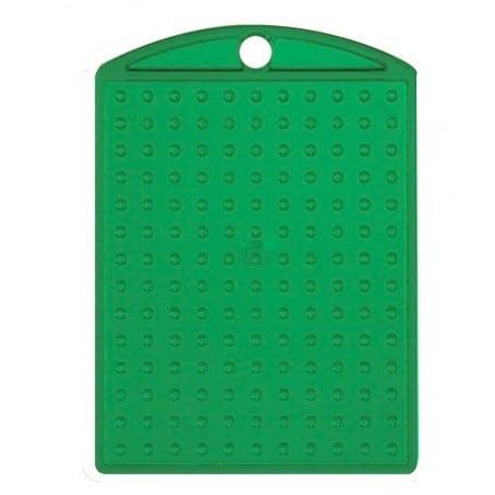 Pixel Schlüsselanhänger Medaillon Grün