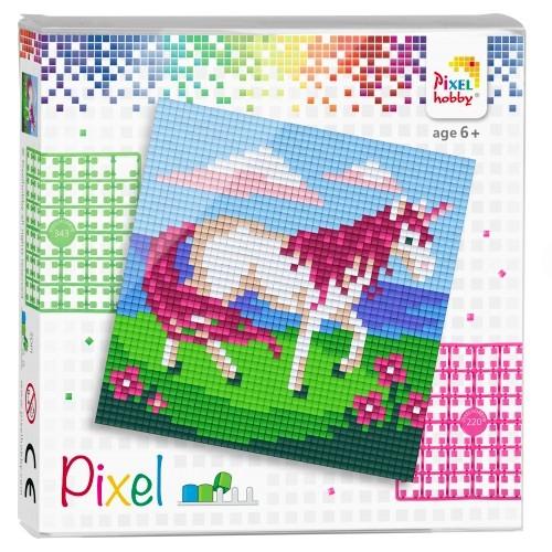 Pixelhobby Quadrate Set Einhorn