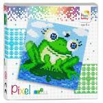 Pixel Geschenkpackung Frosch