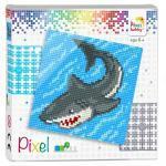 Pixel Geschenkpackung Hai