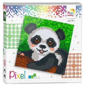 Pixel Geschenkpackung Panda