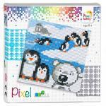 Pixelhobby Quadrate Set Pinguin