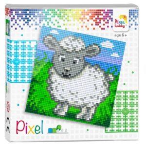 Pixelhobby Quadrate Set Schaf