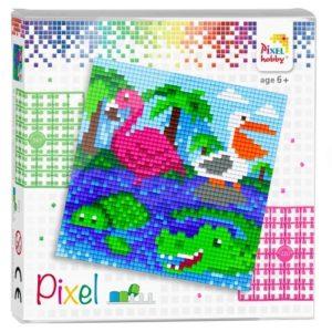 Pixel Geschenkpackung Wassertiere