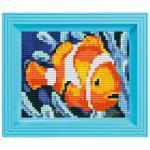 Pixel Hobby Bild im Rahmen Nemo