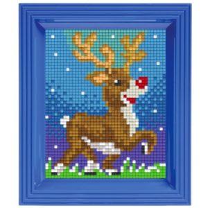 Pixel Geschenkset Rentier