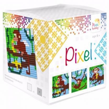 Pixelhobby Wuerfel Affe