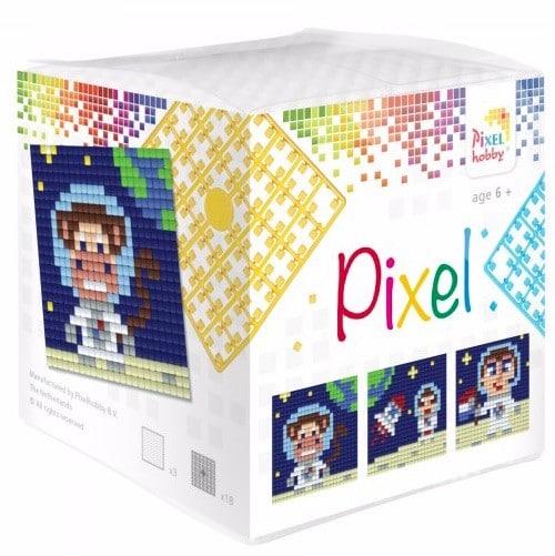 Pixelhobby Wuerfel Astronaut