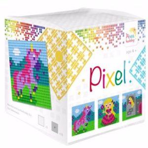 Pixel Wuerfell Einhorn