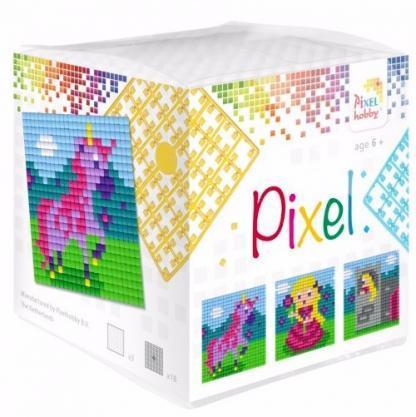Pixelhobby Wuerfel Einhorn