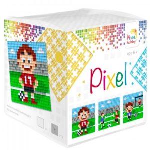 Pixelhobby Wuerfel Fussball