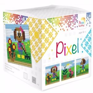 Pixel Wuerfel Hund