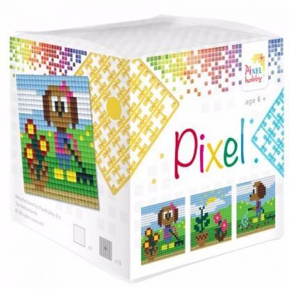 Pixelhobby Wuerfel Hund
