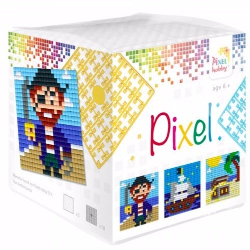 Pixel Wuerfel Piraten