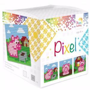 Pixelhobby Wuerfel Schweine