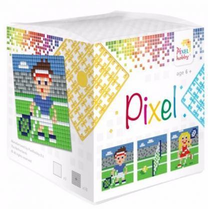 Pixelhobby Wuerfel Tennis