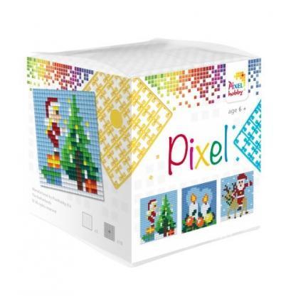 Pixelhobby Wuerfel Weihnachten