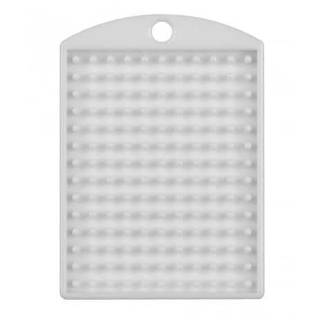 Pixel Medaillon Weiss