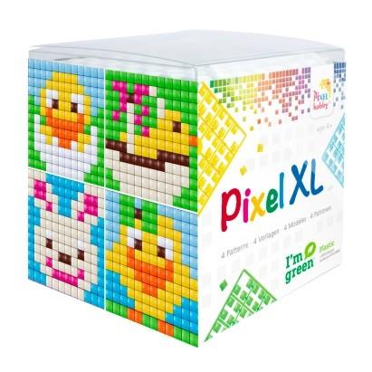 XL Pixelhobby Würfel Ostern