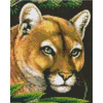 Pixel Vorlage Puma
