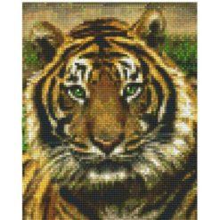 Pixelhobby Tiger Vorlage