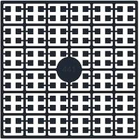 Pixelquadrat Farbe Schwarz