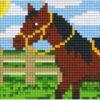 Pixel Pferd