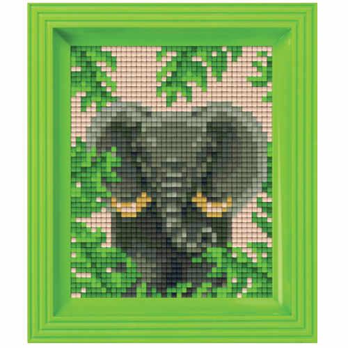 Pixelhobby Bild Elefant