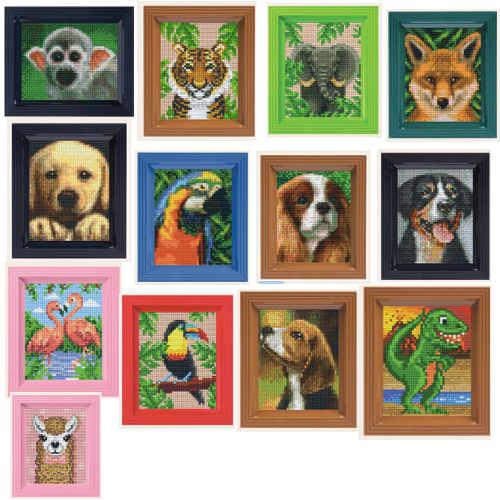 Pixelhobby Pixel Bilder mit Rahmen
