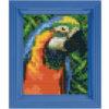 Pixelhobby Bild Papagei