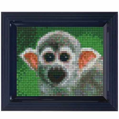 Pixelhobby Bild Totenkopfaffe