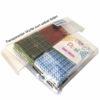 Pixelhobby Mosaikwürfel Trio - Papagei, Würfel separat