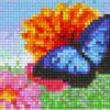 Pixel Vorlage Blume