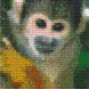 Pixelhobby Vorlage Affe