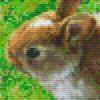 Pixelhobby Vorlage Hase