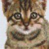 Pixelhobby Vorlage Katze