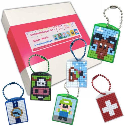Schlüsselanhänger 6er Geschenk Set