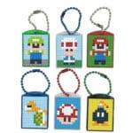 Pixel Schlüsselanhänger Super Mario