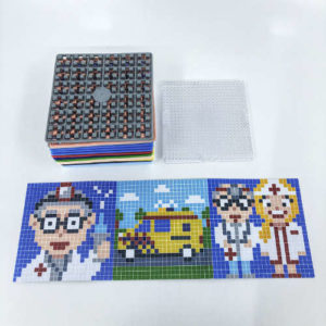 Pixelwürfel Arzt
