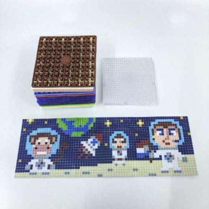 Pixelwürfel Astronaut
