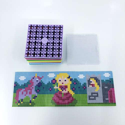 Pixelwürfel Mädchen