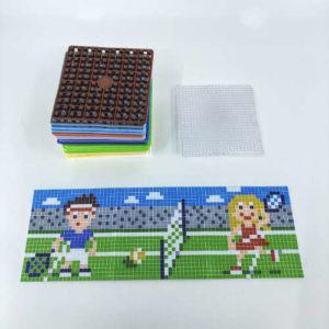 Pixelwürfel Tennis